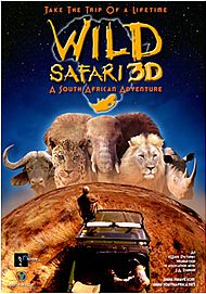 "Movie poster for ""WILD SAFARI 3D"""