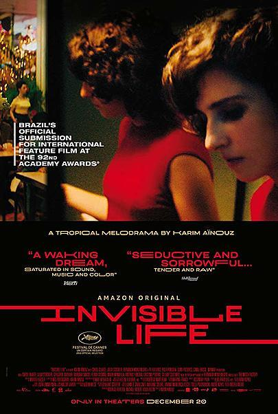 """Movie poster for """"INVISIBLE LIFE"""""""
