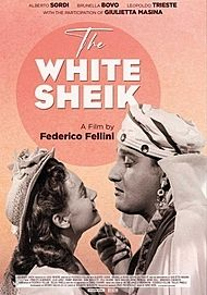 "Movie poster for ""THE WHITE SHEIK"""