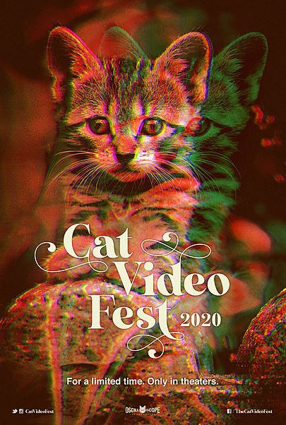 "Movie poster for ""CATVIDEOFEST 2020"""