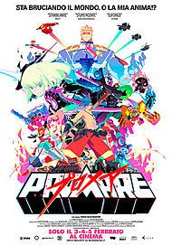 "Movie poster for ""PROMARE"""