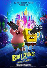 "Movie poster for ""THE SPONGEBOB MOVIE: SPONGE ON THE RUN """