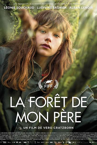 "Movie poster for ""LA FORET DE MON PERE"""