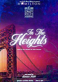 "Movie poster for ""IN THE HEIGHTS"""