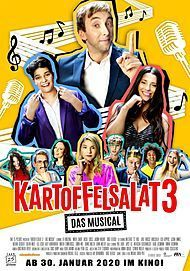 "Movie poster for ""KARTOFFELSALAT 3 - DAS MUSICAL"""