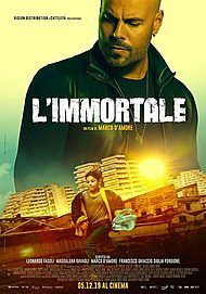 "Movie poster for ""L'IMMORTALE"""