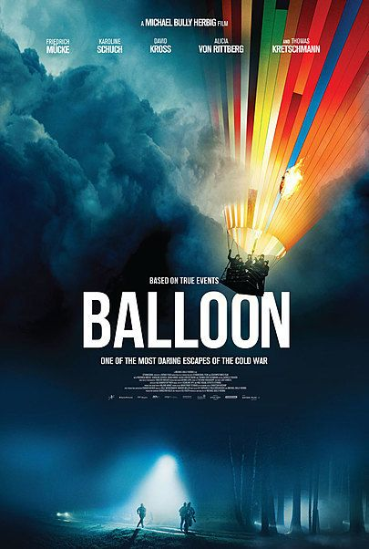 """Movie poster for """"BALLOON"""""""