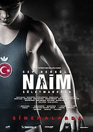 "Movie poster for ""CEP HERKÜLÜ: NAIM SÜLEYMANOGLU"""
