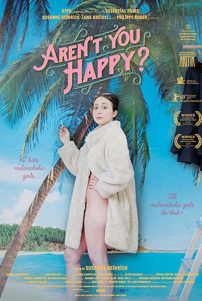 "Movie poster for ""AREN'T YOU HAPPY?"""
