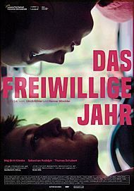 "Movie poster for ""DAS FREIWILLIGE JAHR"""