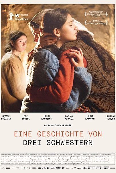 """Filmplakat für """"EINE GESCHICHTE VON DREI SCHWESTERN"""""""