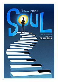 "Movie poster for ""SOUL (2020)"""