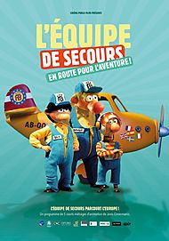 """Movie poster for """"L'EQUIPE DE SECOURS EN ROUTE POUR L'AVENTURE !"""""""