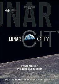 "Movie poster for ""LUNAR CITY"""