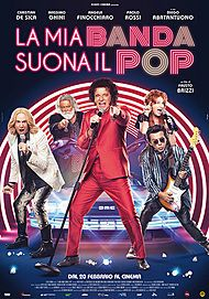 "Movie poster for ""LA MIA BANDA SUONA IL POP"""