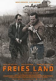 "Movie poster for ""FREIES LAND"""