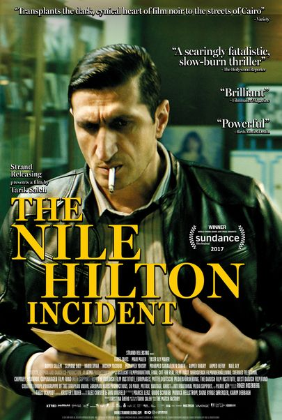 "Movie poster for ""THE NILE HILTON INCIDENT"""