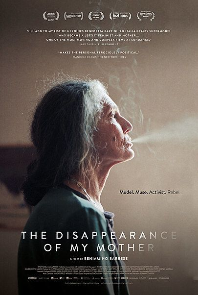 """Movie poster for """"THE DISAPPEARANCE OF MY MOTHER"""""""