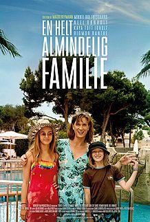 """Movie poster for """"EN HELT ALMINDELIG FAMILIE"""""""