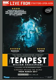 "Movie poster for ""THE TEMPEST - Royal Shakespeare Company Live"""