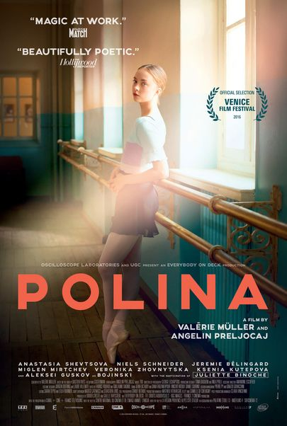 "Movie poster for ""POLINA, DANSER SA VIE"""