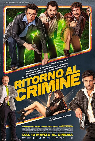 "Movie poster for ""RITORNO AL CRIMINE"""