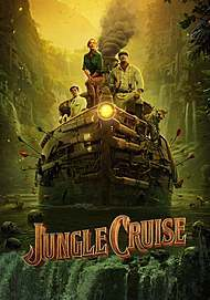 """Movie poster for """"JUNGLE CRUISE"""""""