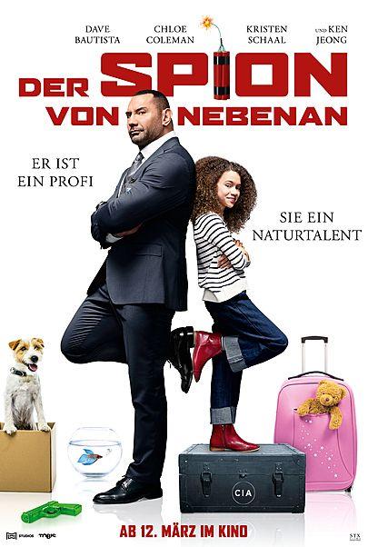 """Filmplakat für """"DER SPION VON NEBENAN"""""""