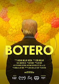 "Movie poster for ""BOTERO"""
