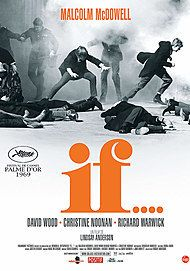 "Movie poster for ""IF (1969)"""