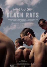 "Movie poster for ""BEACH RATS"""