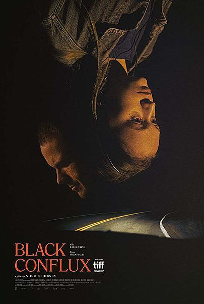 "Movie poster for ""BLACK CONFLUX"""