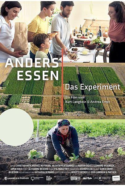 """Filmplakat für """"ANDERS ESSEN - DAS EXPERIMENT"""""""