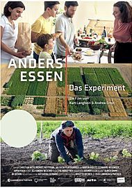 "Movie poster for ""ANDERS ESSEN - DAS EXPERIMENT"""