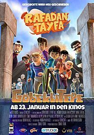 "Movie poster for ""RAFADAN TAYFA: GÖBEKLITEPE"""