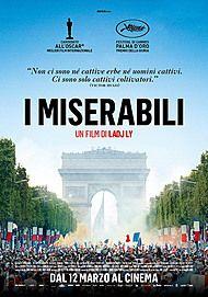 """Movie poster for """"I MISERABILI"""""""