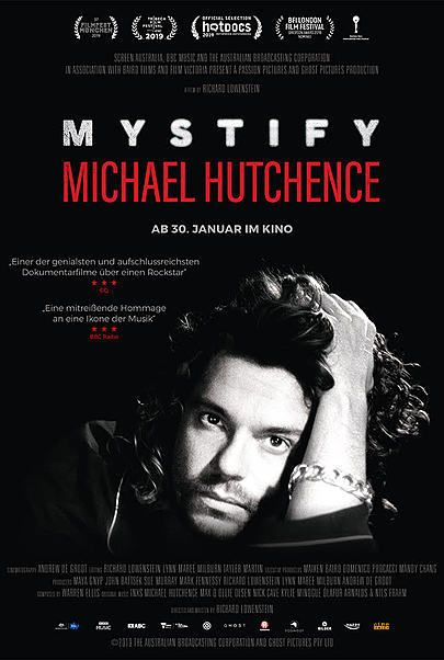 """Filmplakat für """"MYSTIFY: MICHAEL HUTCHENCE"""""""
