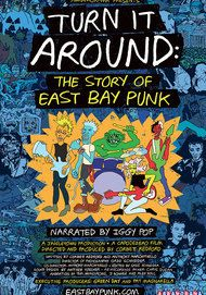 "Movie poster for ""TURN IT AROUND: THE STORY OF EAST BAY PUNK"""
