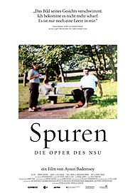 "Movie poster for ""SPUREN - DIE OPFER DES NSU"""