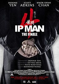 "Movie poster for ""IP MAN 4"""