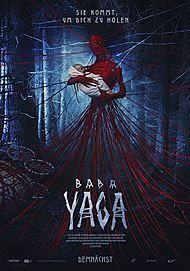 "Movie poster for ""YAGA. KOSHMAR TYOMNOGO LESA"""