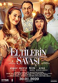 "Movie poster for ""ELTILERIN SAVAŞI"""