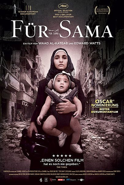 """Movie poster for """"FOR SAMA"""""""