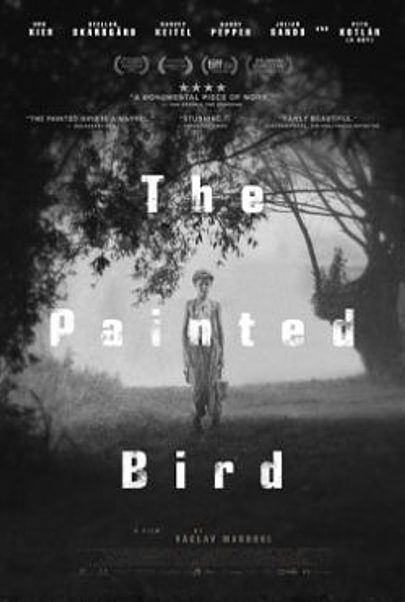 "Movie poster for ""THE PAINTED BIRD"""