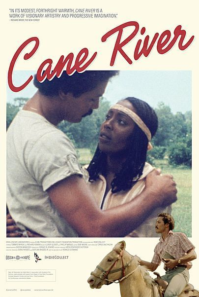 """Movie poster for """"CANE RIVER"""""""