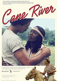 "Movie poster for ""CANE RIVER"""