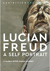 "Movie poster for ""LUCIAN FREUD: A SELF-PORTRAIT (Exhibition On Screen)"""