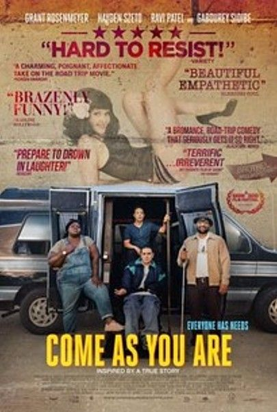 "Movie poster for ""COME AS YOU ARE"""