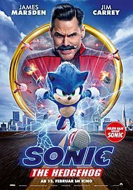 "Filmplakat für ""SONIC THE HEDGEHOG"""
