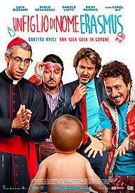 """Movie poster for """"UN FIGLIO DI NOME ERASMUS"""""""